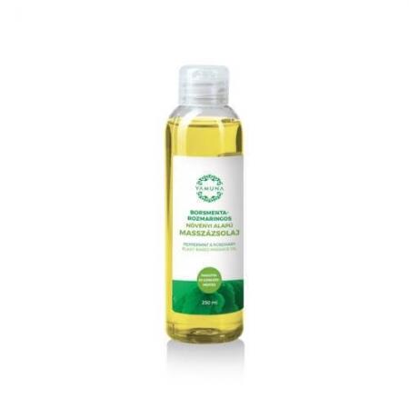 Mátově rozmarýnový rostlinný masážní olej  250ml