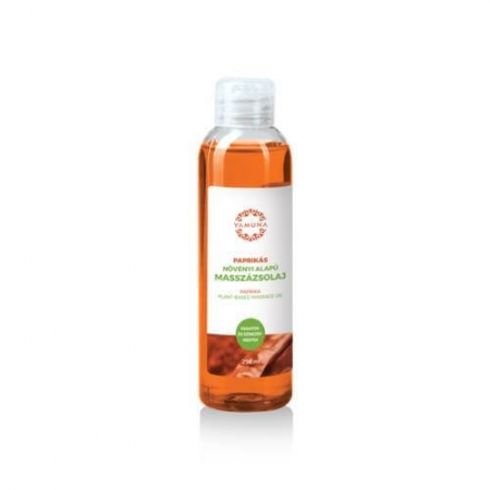Paprikový rostlinný masážní olej  250ml