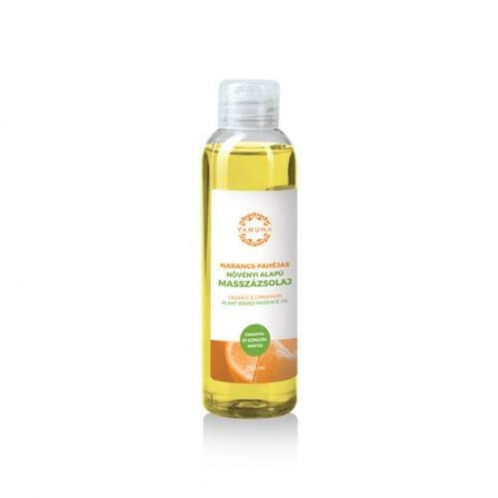 Pomerančovo-skořicový rostlinný masážní olej  250ml