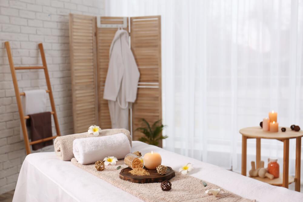 Vybavení masérského salonu