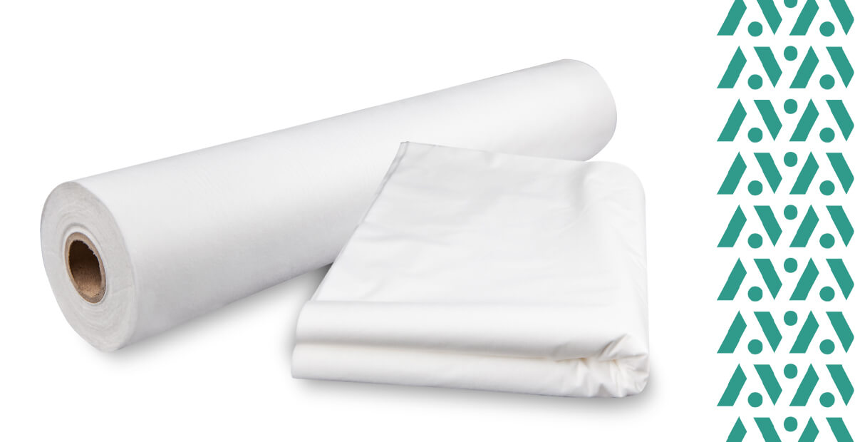 Jednorázové plachty z netkané textilie vhodné na masážní lehátko