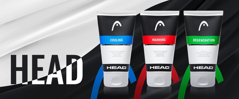 Funkční sportovní krémy HEAD