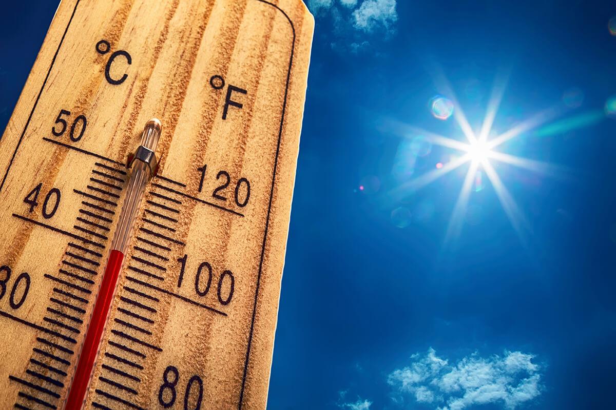 Rekordně vysoké teploty - jít na masáž?