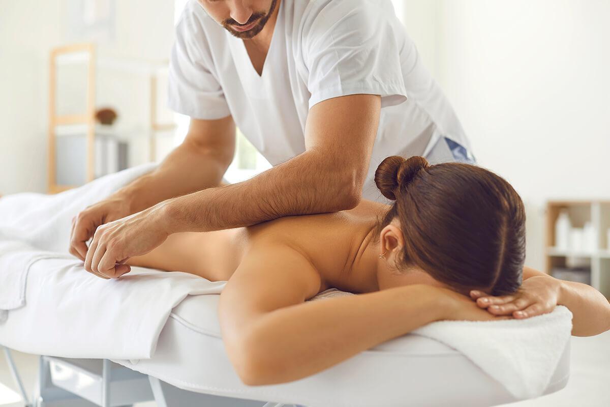 Používanie predlaktia pri masáži
