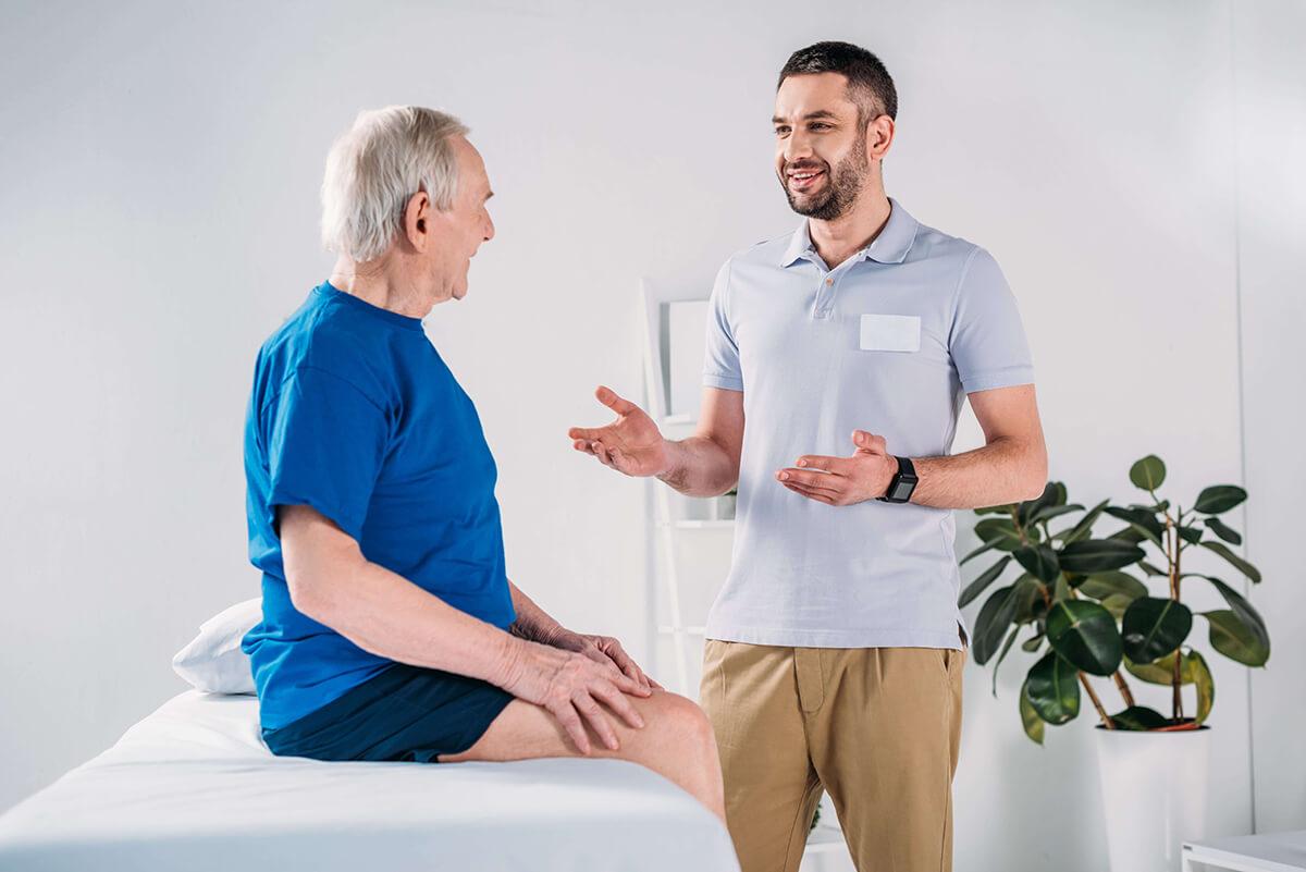 Rozhovor s klientem před terapií
