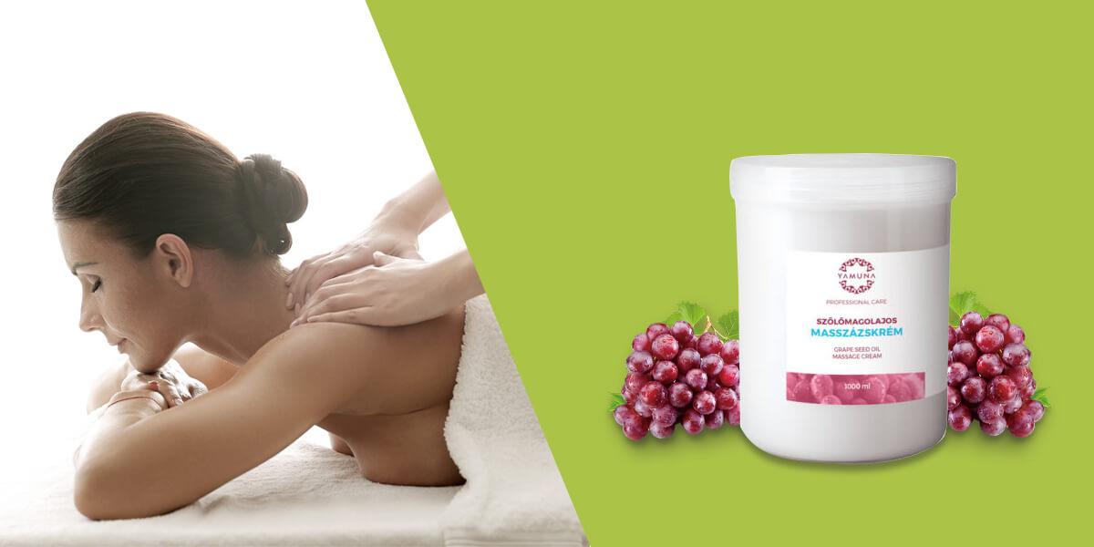 Masážní krém je vhodný na masáž i pro kosmetiku